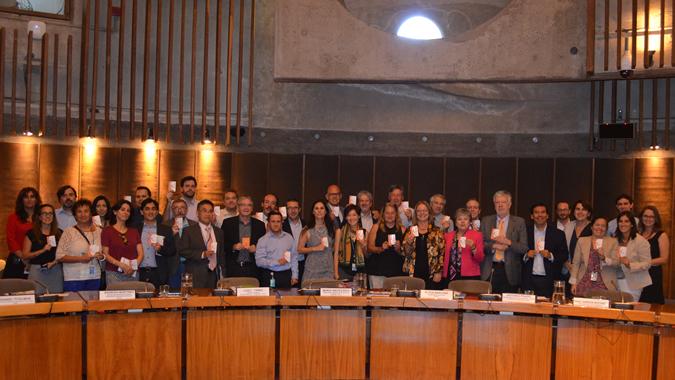Imagen del taller de reflexión sobre la transversalización del enfoque de género en la implementación de la Agenda 2030, celebrado en la CEPAL el 8 de marzo de 2017 con motivo del Día Internacional de la Mujer.