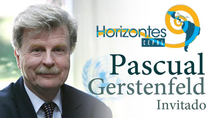 Pascual Gerstenfeld, Director de la División de Estadísticas de la CEPAL, entrevistado en el programa Horizontes CEPAL.