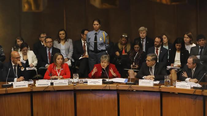 Inauguración de la segunda reunión del Foro de los Países de América Latina y el Caribe sobre el Desarrollo Sostenible