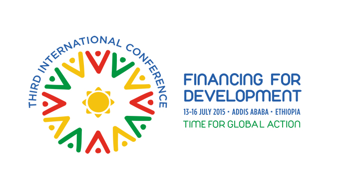 United Nations Third International Conference on Financing for Development logo