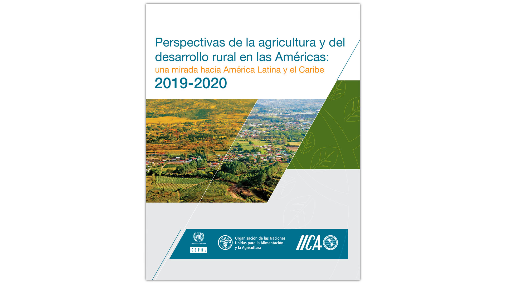 Portada informe CEPAL FAO IICA