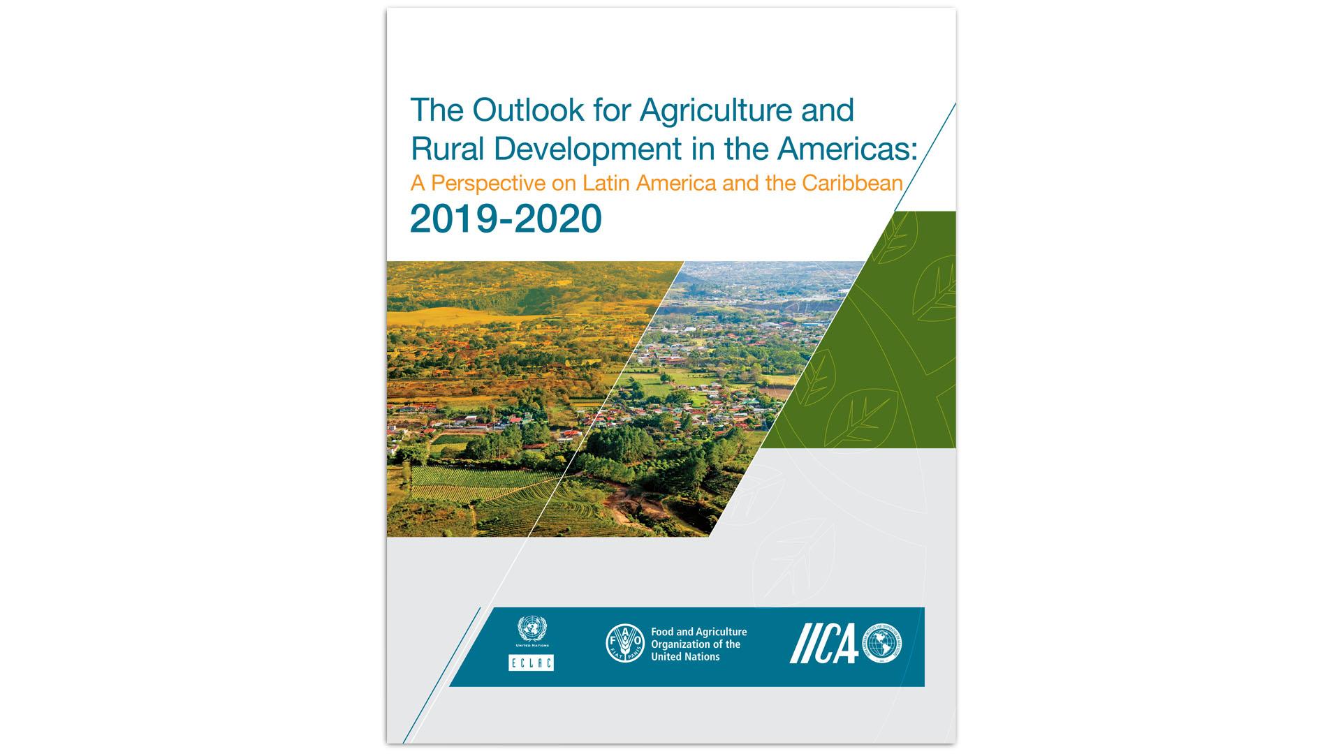 Cover ECLAC FAO IICA report 2019