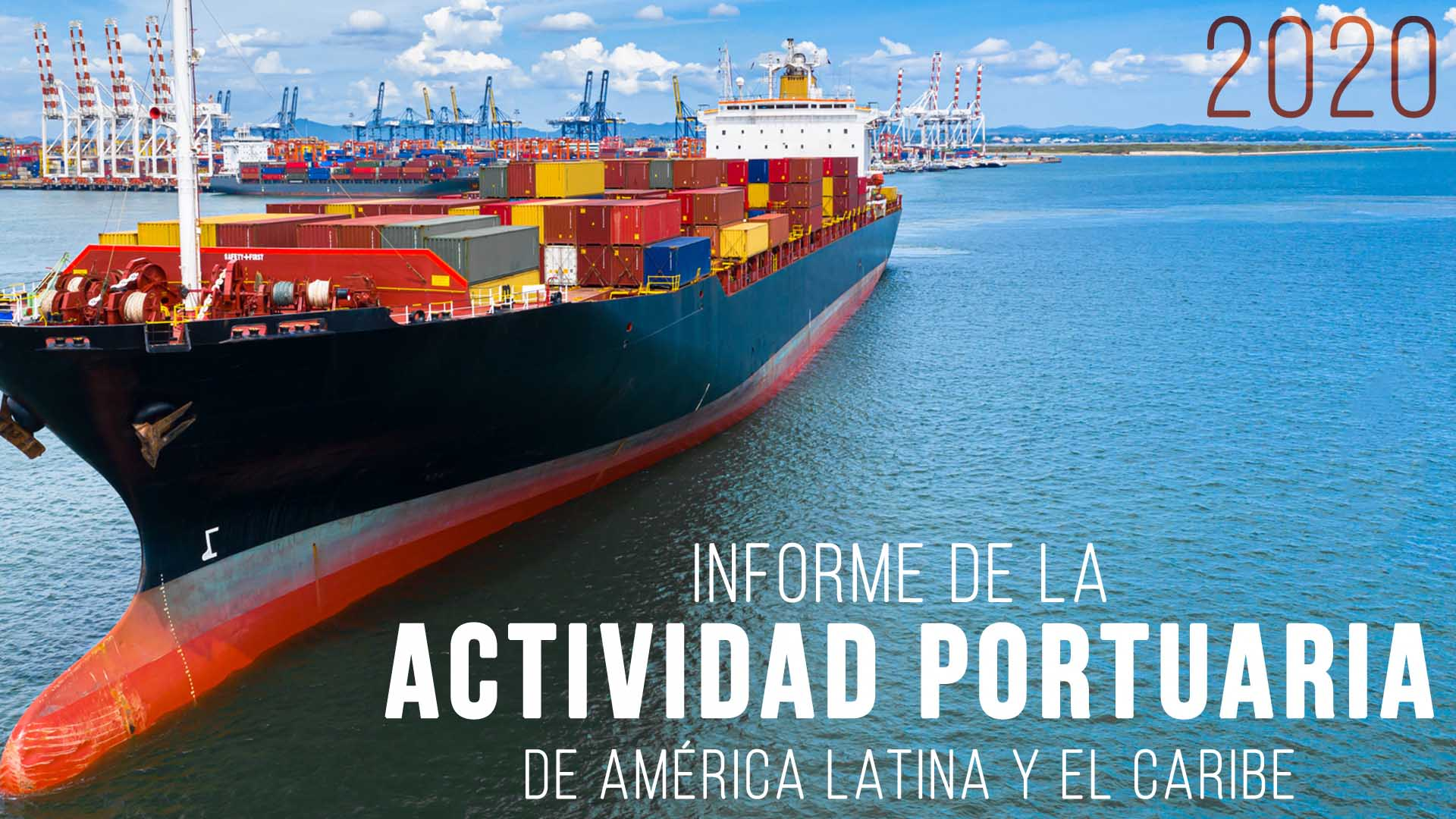Portada informe portuario 2020