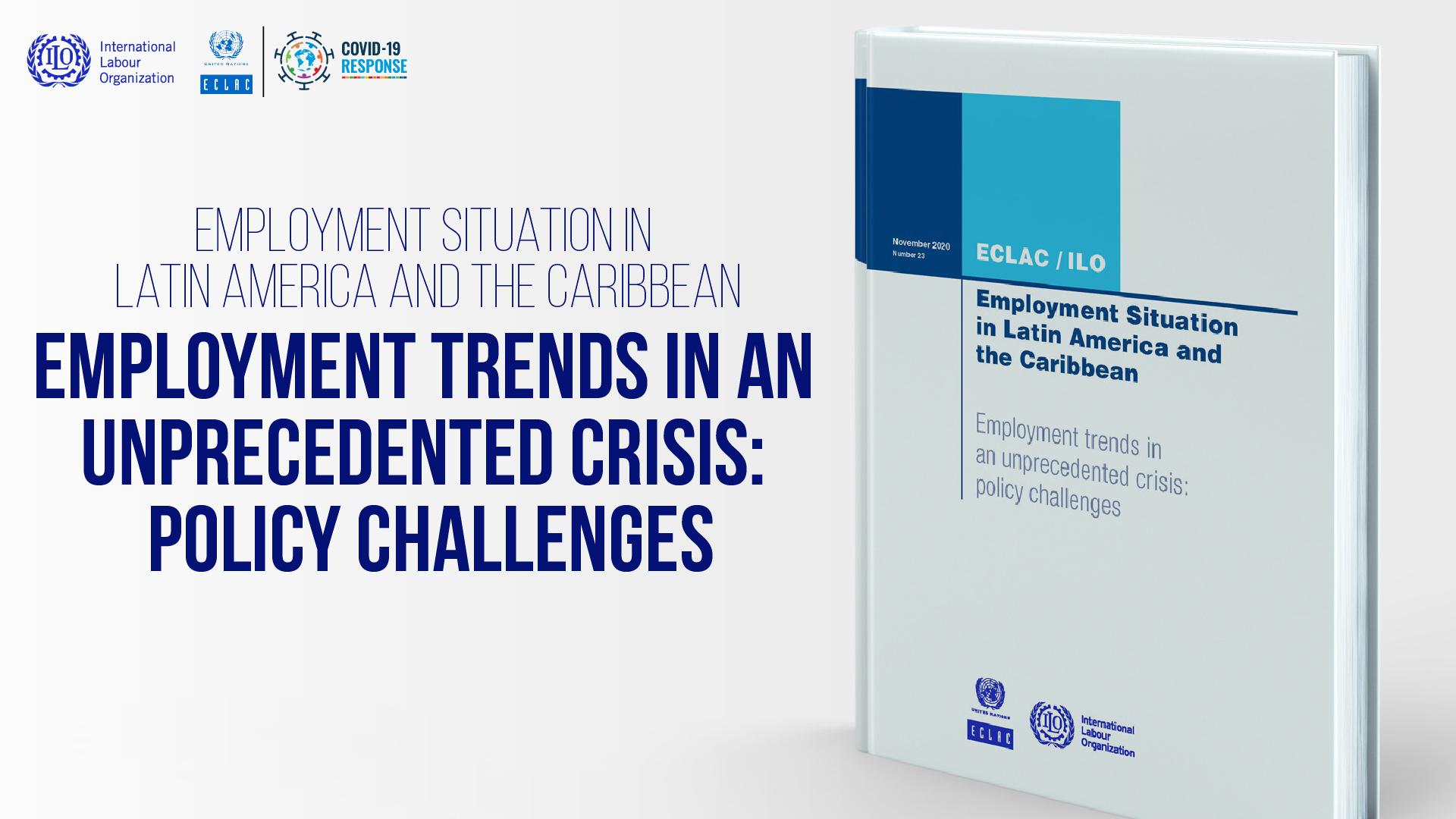 Cover ECLAC-ILO report November 2020