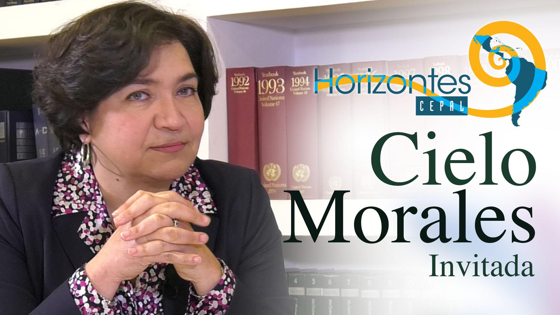 Cielo Morales, Directora del Instituto Latinoamericano y del Caribe de Planificación Económica y Social (ILPES).