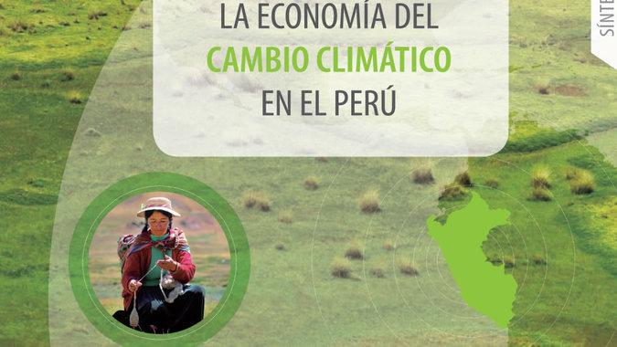Foto de la portada del documento sobre cambio climático en Perú