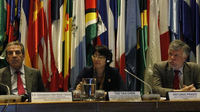 Foto del taller sobre China y América Latina