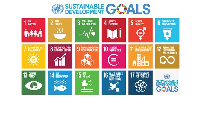 poster on SDGs
