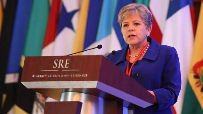 foto de la Secretaria Ejecutiva de la CEPAL, Alicia Bárcena.