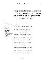 Responsabilidad en la gestión de los programas gubernamentales de fomento de las pequeñas y medianas empresas
