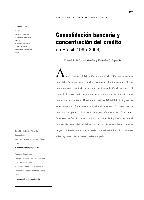 Consolidación bancaria y concentración del crédito en Brasil (1995-2004)