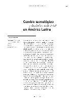 Cambio tecnológico y dinámica industrial en América Latina