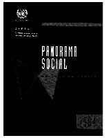Panorama Social de América Latina 1994