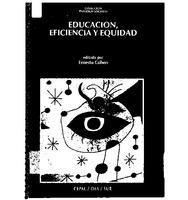 Educación, eficiencia y equidad