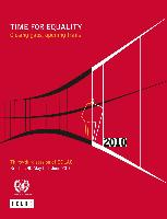 Time for equality: closing gaps, opening trails. Thirty-third session of ECLAC