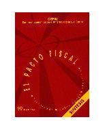 El pacto fiscal: fortalezas, debilidades, desafíos: síntesis = The fiscal covenant: strengths, weaknesses, challenges: summary