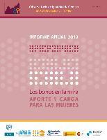 Observatorio de igualdad de género de América Latina y el Caribe (OIG). Informe anual 2012: los bonos en la mira, aporte y carga para las mujeres