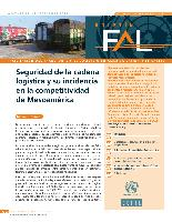Seguridad de la cadena logística y su incidencia en la competitividad de Mesoamérica