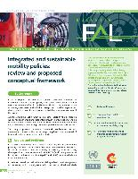 Integrated and sustainable mobility policies: review and proposed conceptual framework