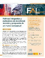 Políticas integradas y sostenibles de movilidad: revisión y propuesta de un marco conceptual
