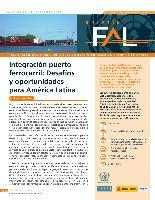 Integración puerto ferrocarril: Desafíos y oportunidades para América Latina