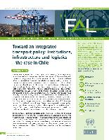 Toward an integrated transport policy: institutions, infrastructure and logistics - the case in Chile