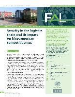 Security in the logistics chain and its impact on Mesoamerican competitiveness