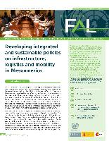 Developing integrated and sustainable policies on infrastructure, logistics and mobility in Mesoamerica