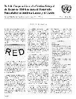 Carta Circular de la Red de Cooperación en la Gestión Integral de Recursos Hídricos para el Desarrollo Sustentable en América Latina y el Caribe N° 14