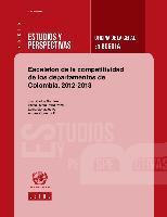 Escalafón de la competitividad de los departamentos de Colombia, 2012-2013