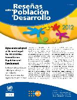 Reseñas sobre Población y Desarrollo 7: Agreements adopted at the meeting of the ECLAC Ad Hoc Committee on Population and Development