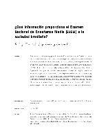 ¿Qué información proporciona el Examen Nacional de Enseñanza Media (enem) a la sociedad brasileña?