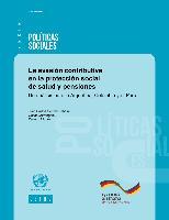 La evasión contributiva en la protección social de salud y pensiones: Un análisis para la Argentina, Colombia y el Perú
