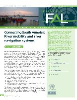 Connecting South America: River mobility and river navigation systems