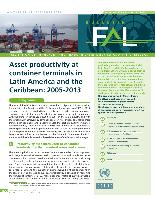 Asset productivity at container terminals in Latin America and the Caribbean: 2005-2013