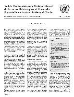 Carta Circular de la Red de Cooperación en la Gestión Integral de Recursos Hídricos para el Desarrollo Sustentable en América Latina y el Caribe N° 42