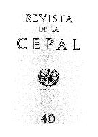Revista de la CEPAL no.40