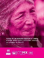 Acceso de las personas mayores al crédito Pensión Alimentaria y derechos conexos en la Ciudad de México