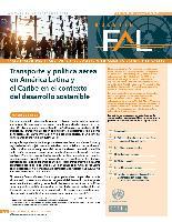 Transporte y política aérea en América Latina y el Caribe en el contexto del desarrollo sostenible