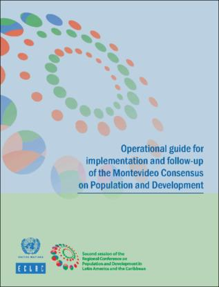 Operational guide for implementation and follow-up of the Montevideo Consensus on Population and Development