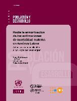 Hacia la armonización de las estimaciones de mortalidad materna en América Latina: actualización y ampliación a los 20 países de la región