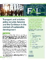 Transport and aviation policy in Latin America and the Caribbean in the context of sustainable development