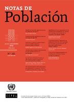 Notas de Población Vol. 42 N° 101