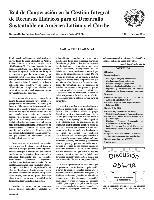 Carta Circular de la Red de Cooperación en la Gestión Integral de Recursos Hídricos para el Desarrollo Sustentable en América Latina y el Caribe N° 44