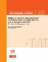 Análisis de opciones para incrementar las transacciones de energía eléctrica por la interconexión México- Guatemala-Centroamérica