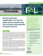 Inland waterways classification as a tool for public policy and planning: core concepts and proposals for South America
