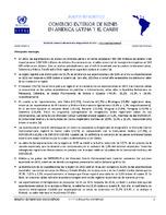 Boletín estadístico de comercio exterior de bienes en América Latina y el Caribe (Nro. 22)