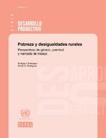Pobreza y desigualdades rurales: perspectivas de género, juventud y mercado de trabajo