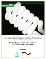 Energy efficiency policies in the Caribbean: a manual to guide the discussion