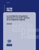 La contribución del gobierno electrónico y los datos abiertos en la integración regional